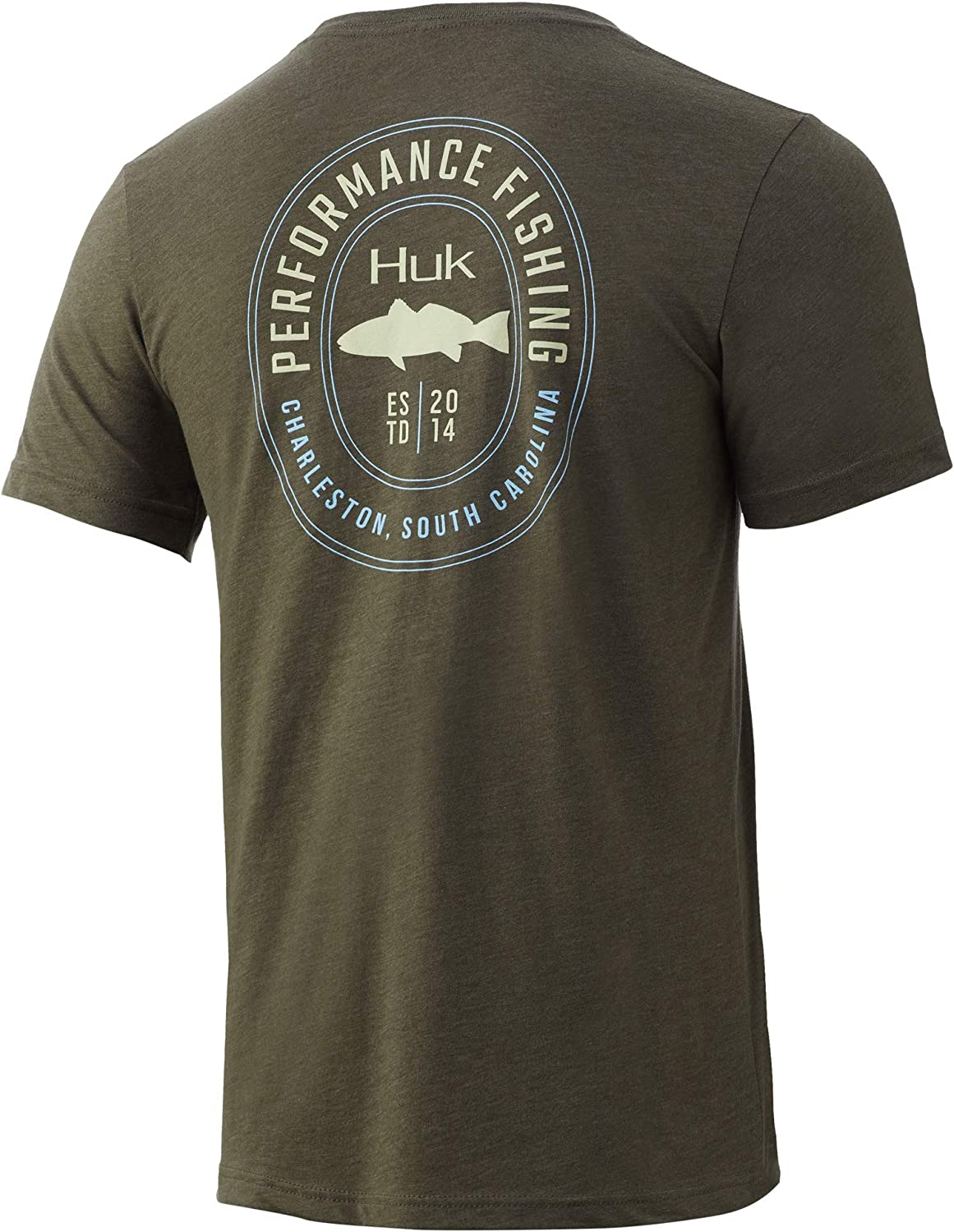 HUK Men's Redfish Tee Portland Mall Animer and price revision