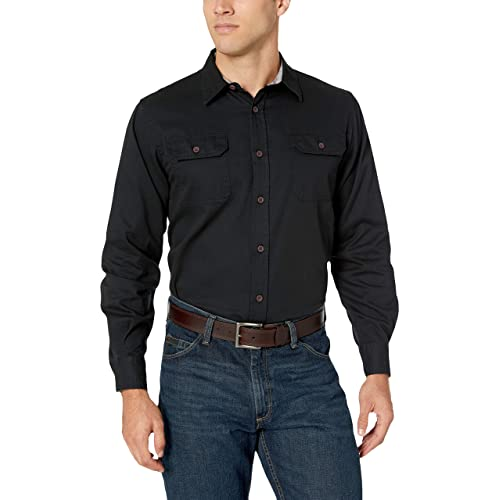 345f35b1877f Wrangler Authentics Men's Authentics Long Sleeve Classic Woven Shirt