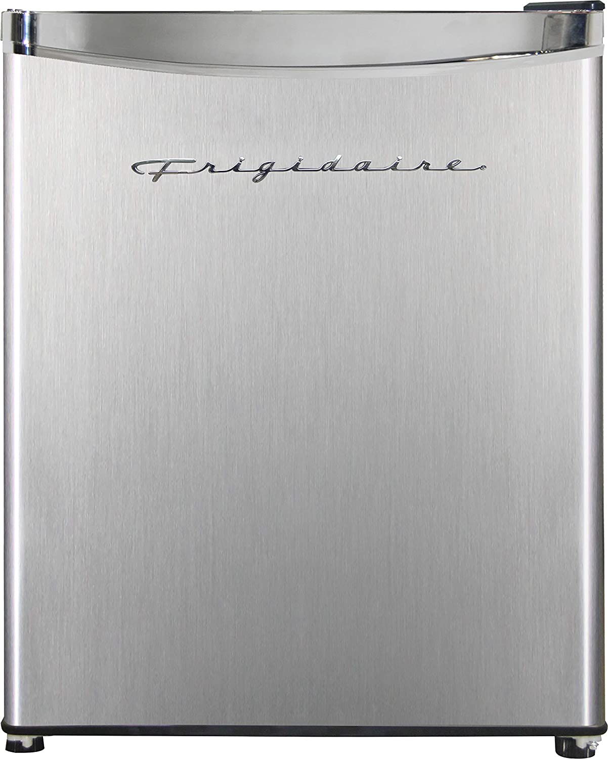 Frigidaire EFR182 1.6 Challenge the lowest price of Japan cu ft Steel High order Perfect Fridge. Mini Stainless