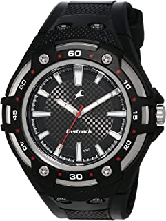 Fastrack New OTS Analog Black Dial Men's Watch NM9332PP02 / NL9332PP02