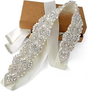Best rhinestone belt for wedding dress Reviews