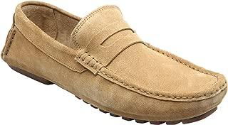 Heels & Shoes Men's Suede Loafers - Blue