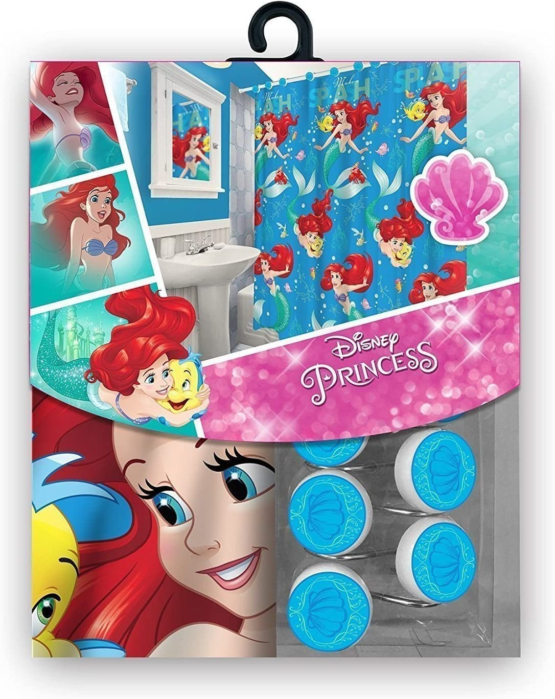 Max 60% OFF S.L. Home Fashions 13pc Disney Shower Ariel Little Curta All items in the store Mermaid