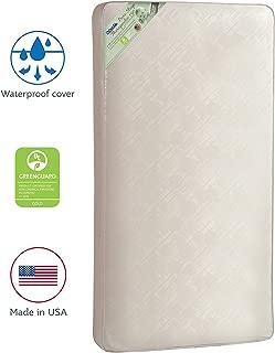 Kolcraft Pure Sleep Therapeutic 150 Waterproof Toddler & Baby Crib Mattress –..