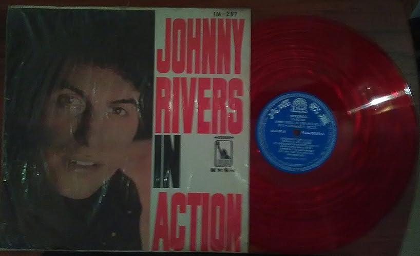 Johnny Rivers In Action - LW-297 Vintage Vietnam Era Vinyl!