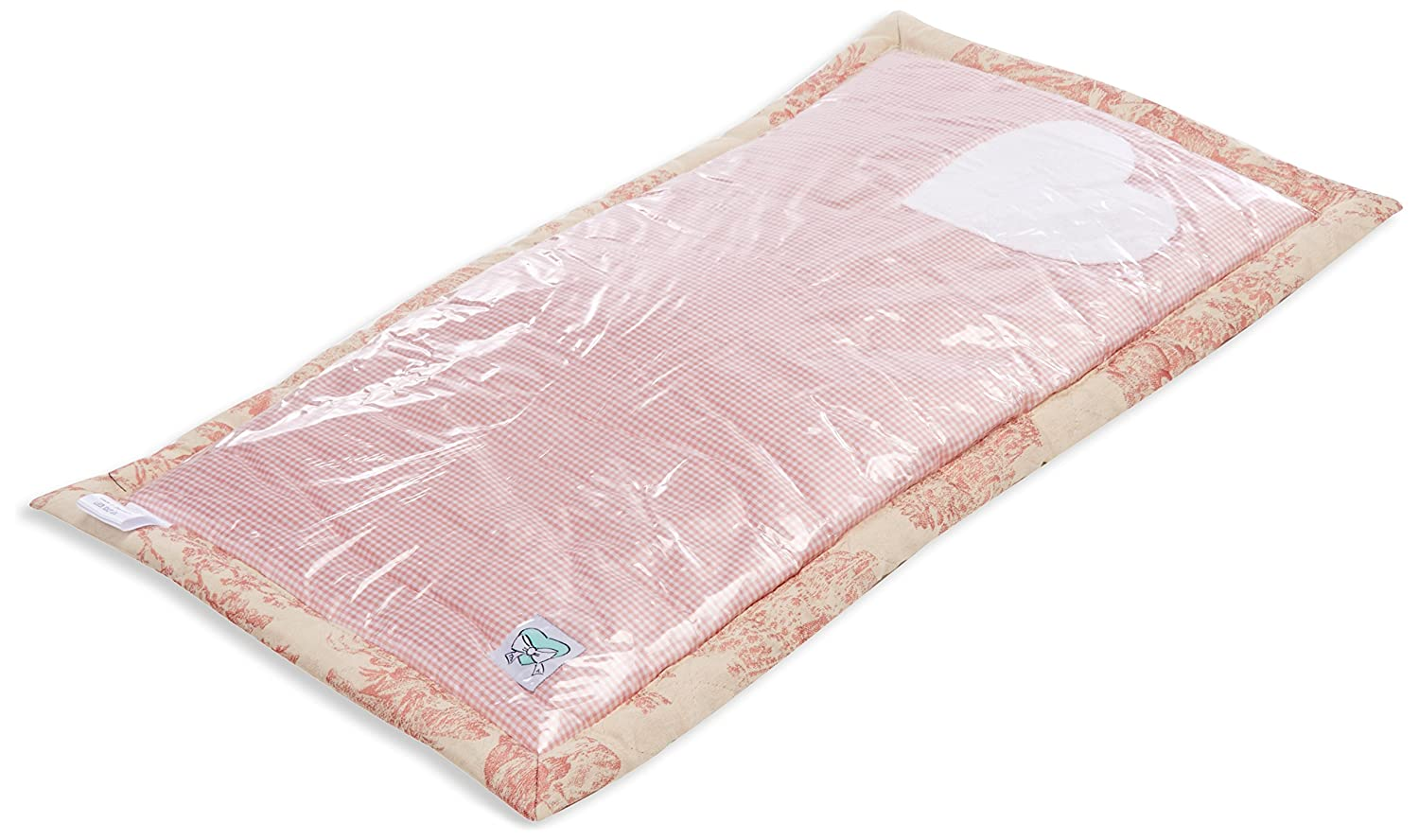 Therese Accessoires Pompadour Changing Pad (30 x 26 cm, Pink)