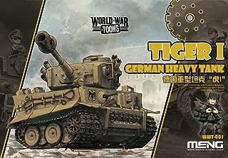 Meng WWT-001 Model - German Tiger I German Heavy Tank World War Toon
