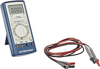 BK Precision 391A Manual-Ranging, True RMS Digital Multimeter with Logic Test, 20 Amp, 750VAC, 1000VDC, 20 Megaohms, 200 kHz