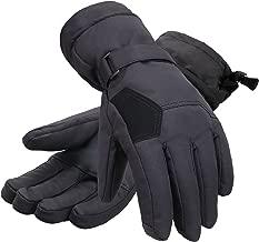 Andorra Women's Two-Tone Geometric 3M Thinsulate Insulated Touchscreen Ski Glove