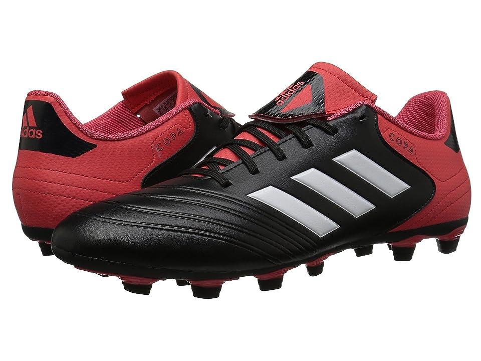 adidas Copa 18.4 FG (Black/White/Real Coral) Men