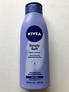 Nivea Body Simply Soft for Dry Skin 13.5oz Bottle (1/pk)