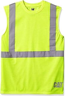 Men's Hi-vis Sleeveless T-Shirt (Regular and Big & Tall...