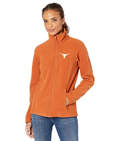 Columbia College Texas Longhorns Give and Gotm II Full Zip Fleece Jacket (Cedar) Women