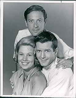 Vintage Photos 1964 Press Photo Actor Don Galloway Joyce Bulifant Celebrity Steve Franken 7X9