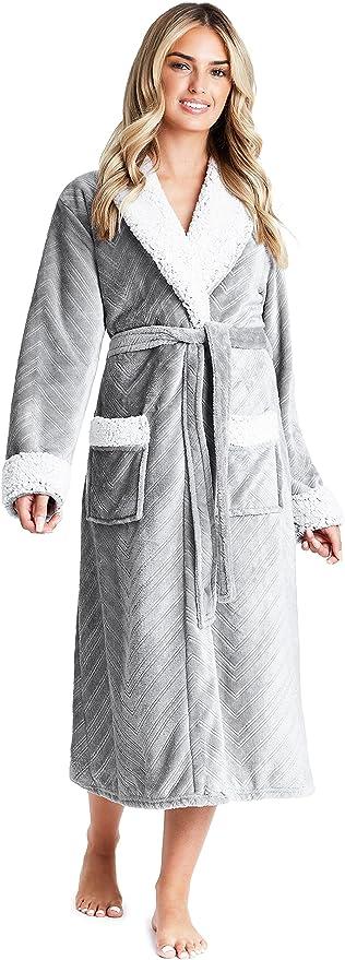 1090 opinioni per CityComfort Vestaglia da Donna con Cappuccio, Vestaglia Donna Invernale in