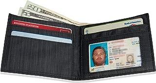 Slim Leather ID Wallet - Black