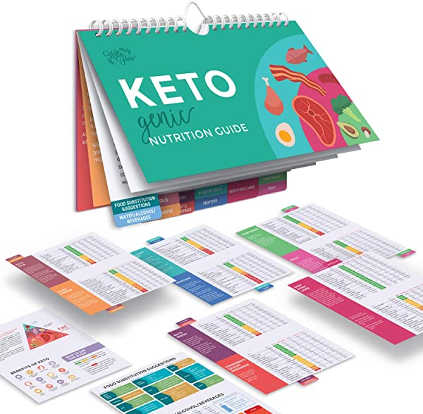 Willa Flare Keto Cheat Sheet Magnets Easy Reference For 192 Keto Snacks And Foods Correct Ketogenic Measurements For Your Keto Cookbook Easy Keto Diet Fridge Guide PLUS Extra List Of 500 Foods