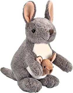 (20cm ) - Wild Republic Kangaroo with Joey Plush, Stuffed Animal, Plush Toy, Gifts for Kids, Cuddlekins 20cm