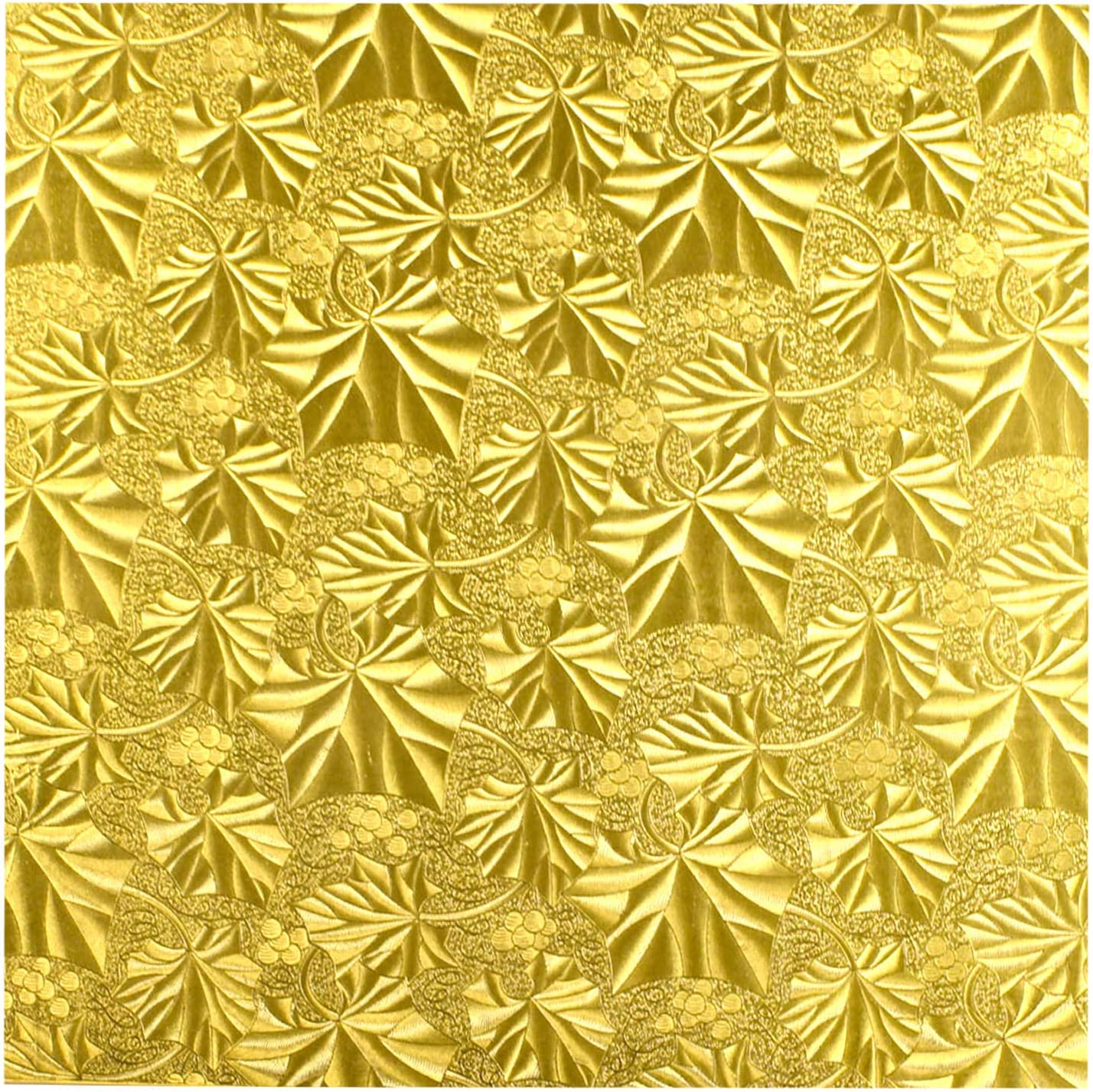 Cake Fold-under Board Square Department store Gold 1 x Thick - Indianapolis Mall Pack 2