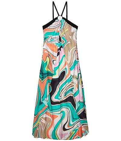 Trina Turk Nazare Maxi Dress Swimsuit Cover-Up (Multi) Women
