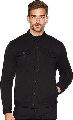 Sherpa Lined Knit Jean Jacket