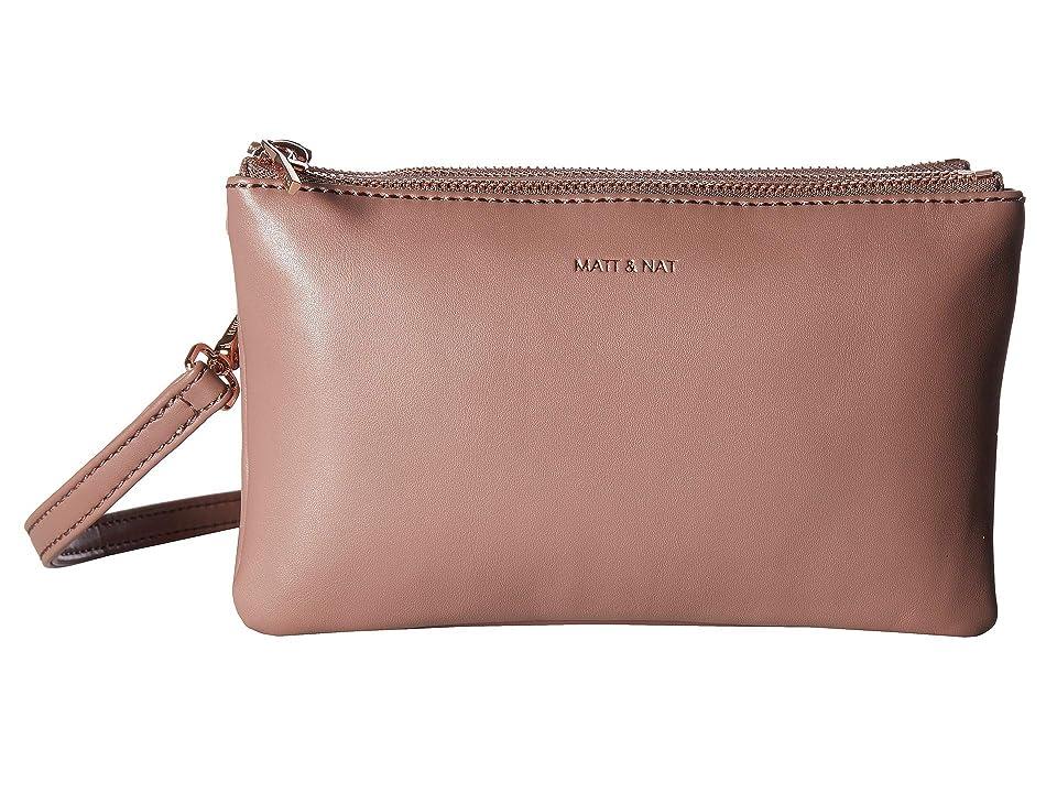 Matt & Nat Loom Triplet (Mahogany) Handbags