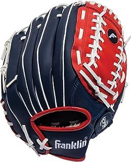 Franklin Sports Field Master Series Baseball Glove — Adjustable Synthetic Leather Baseball Gloves — Baseball Mitt — Multiple Colors