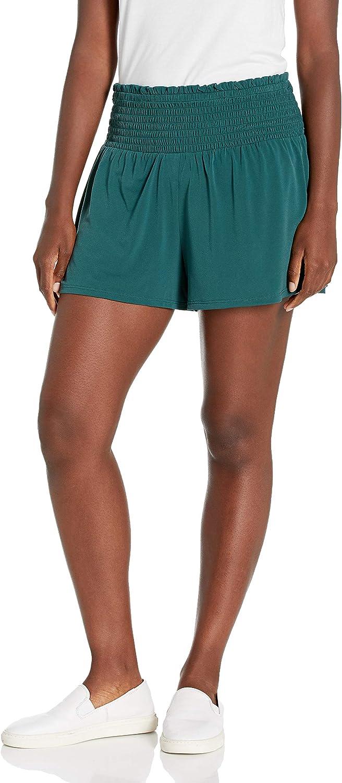 BCBGeneration Large-scale Easy-to-use sale Women's Smocked Waist Short