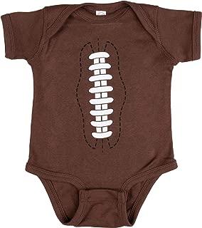 Ann Arbor T-shirt Co. Baby Football | Funny Infant Newborn 6M 12M One Piece Romper Sports Joke Humor