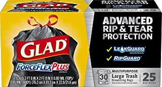 Glad Forceflex Garbage Bags,  25 Count