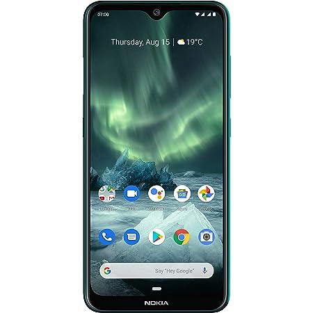 "Nokia 7.2 - Android 9.0 Pie - 128 GB - 48MP Triple Camera - Unlocked Smartphone (AT&T/T-Mobile/MetroPCS/Cricket/Mint) - 6.3"" FHD+ HDR Screen - Green - U.S. Warranty, Model:TA-1178"