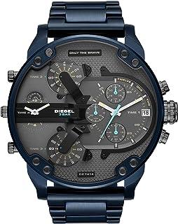 Diesel Mr Daddy 2.0 Men's Grey Dial Stainless Steel Analog Watch - DZ7414