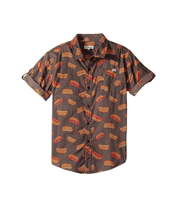 Appaman Kids Pattern Shirt (Toddler/Little Kids/Big Kids) (Hot Dog) Boy