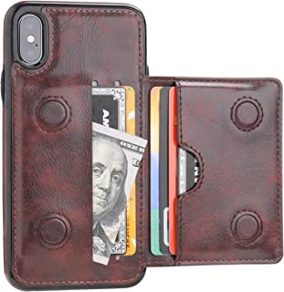 best service 464f7 680be Amazon.com: iPhone X Cell Phone Flip Cases