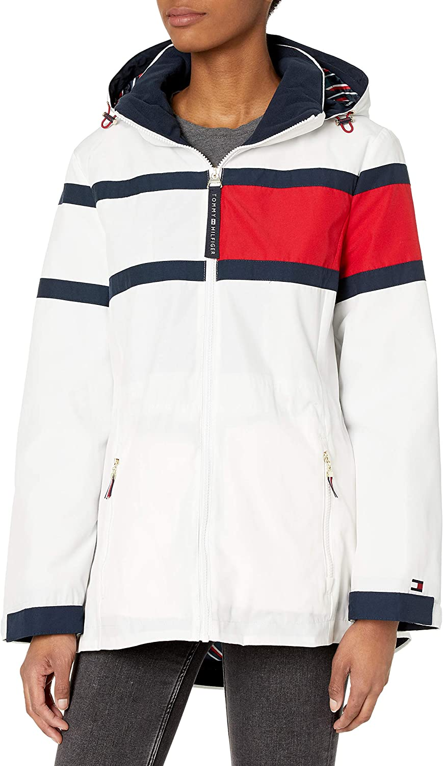 Tommy Hilfiger womens Packable Jacket With Hood