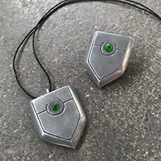 Rising of the Shield Hero, Tate no Yuusha no nariagari, collana ciondolo con scudo in resina e polvere di alluminio
