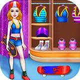 Patineta Patinaje Baile Estrella Niña - Destaca tus habilidades de baile y patinaje con este juego gratuito de música y deportes
