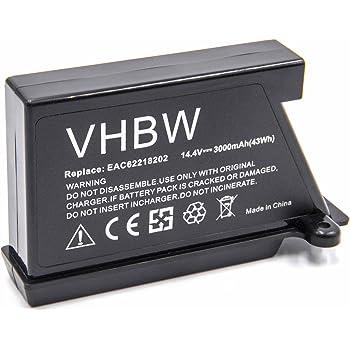 vhbw Li Ion batterie 2600mAh (14.4V) pour robot aspirateur
