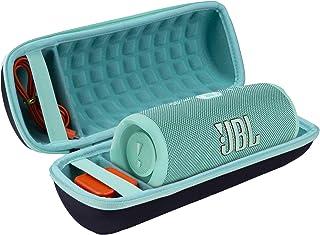 Hart Reise Schutz Hülle Etui Tasche für JBL Charge 4 / Charge 5 Tragbarer Bluetooth Lautsprecher von co2CREA (Innen Teal)