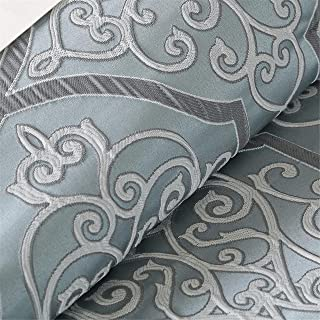 Madison Park LaVine 12 Piece Jacquard Comforter Set, Blue, Queen
