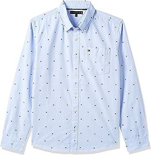 Tommy Hilfiger Flag Oxford Shirt L/S Camisa para Niños