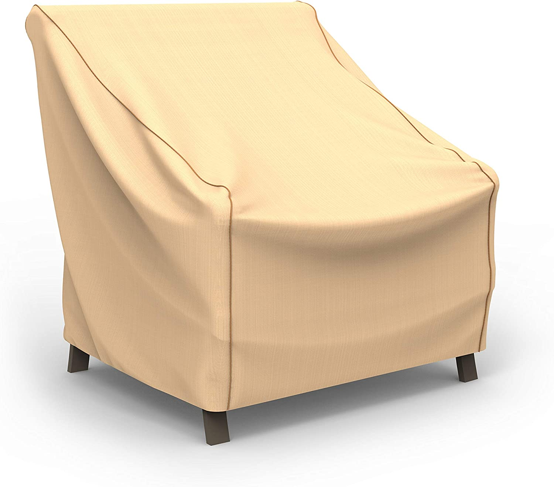Financial sales sale EmpirePatio Select Tan Patio shop Medium Chair Cover