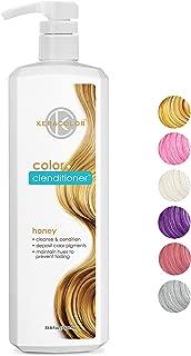 Keracolor Clenditioner Color Depositing Conditioner Colorwash, 6 Colors   Vegan and Cruelty Free, Liter