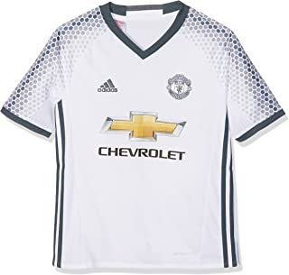 Adidas Manchester United FC Official 2016/17 SS Third Jersey - Youth - White/Bold Onix -