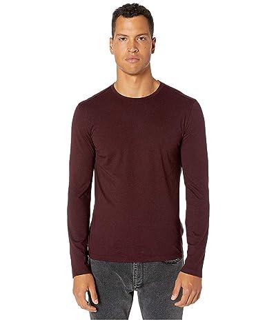 John Varvatos Collection Slim Fit Cotton/Cashmere Crew T-Shirt K3144V3 (Scarlet) Men