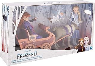 Disney Frozen - Sven y Las Hermanas en Trineo - Muñecas de