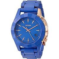 Nixon Women's Monarch Stainless Steel Watch (Blue)