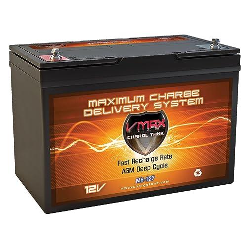 Amazon Com Vmax Mr127 12 Volt 100ah Agm Deep Cycle
