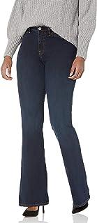 True Religion Women's High Rise Trouser Flare Leg Jean