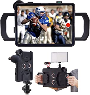 MegaMount Multimedia Rig Case Video stabilizer for Apple iPad Pro 12.9 inch[2018 3rd GEN ONLY] Easily Attach Lenses, Light...